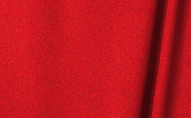 Cardinal Red Wrinkle Resistant Backdrop