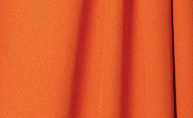 Tangerine Wrinkle Resistant Backdrop