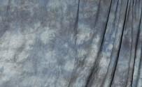 Blue Winter Crushed Muslin Backdrop