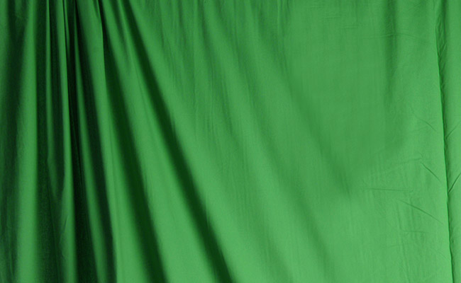 Solid Chroma Green Muslin