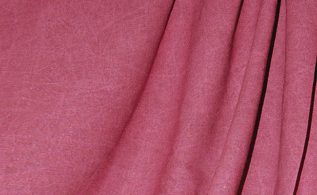 Cranberry Washed Muslin Backdrop