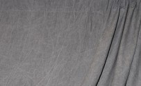 Dark Gray Washed Muslin Backdrop
