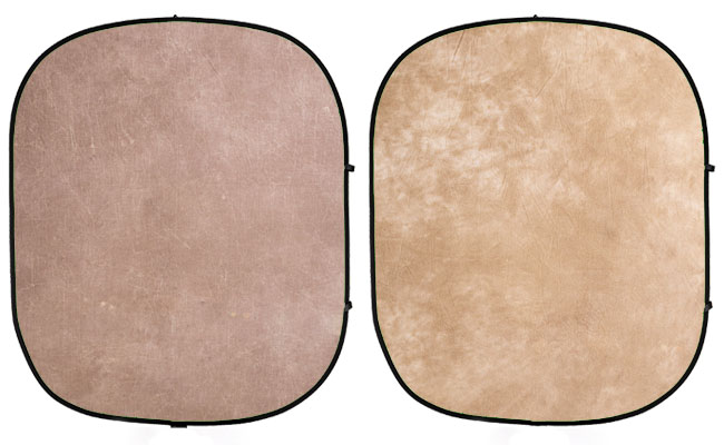 Earth Tone Collapsible Backdrop