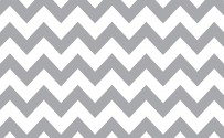 Gray & White Chevron Printed Background Paper