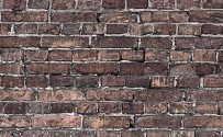 Grunge Brick Printed Background Paper