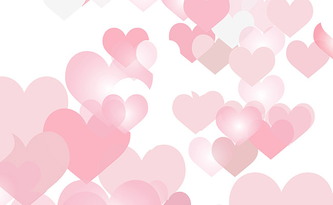 Love Burst Printed Background Paper