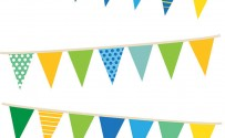 Party Banners Printed Background Paper