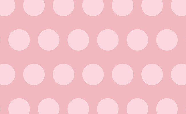 Rosy Polka Dots Printed Background Paper