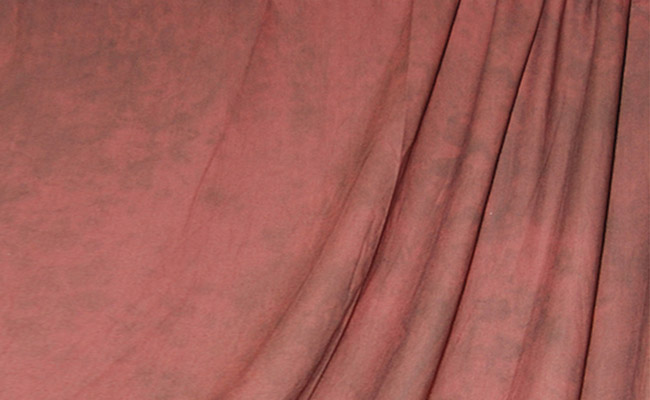 Sedona Red Crushed Muslin Backdrop