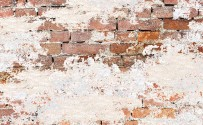 Weathered Brick Printed Background Paper