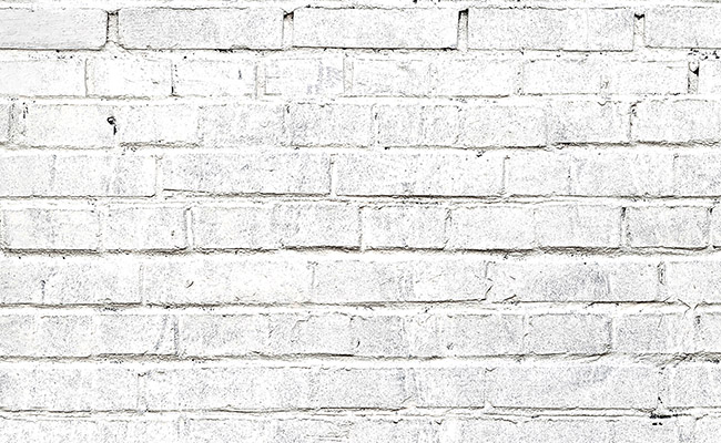 White Brick Printed Background Paper